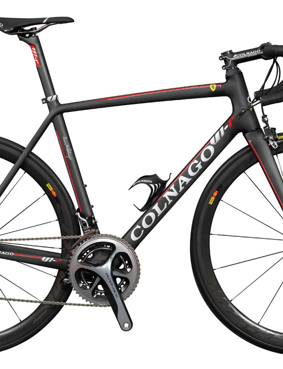 The Colnago V1-r is a high-end collaboration with Ferrari