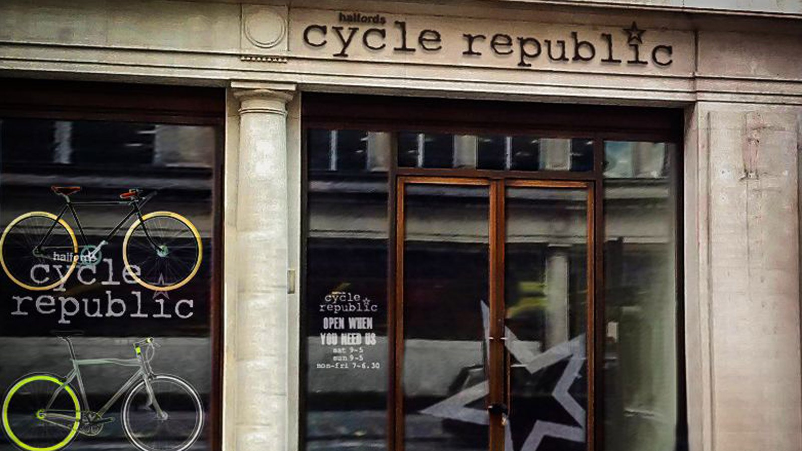 Halfords' new Cycle Republic outlet in London