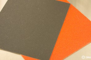 Emery cloth or sandpaper is useful to clean brake pad surfaces, removing glazing and other contaminants
