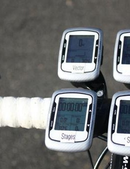 After months of dorking out, we can safely conclude that running four computers on your handlebars looks ridiculous
