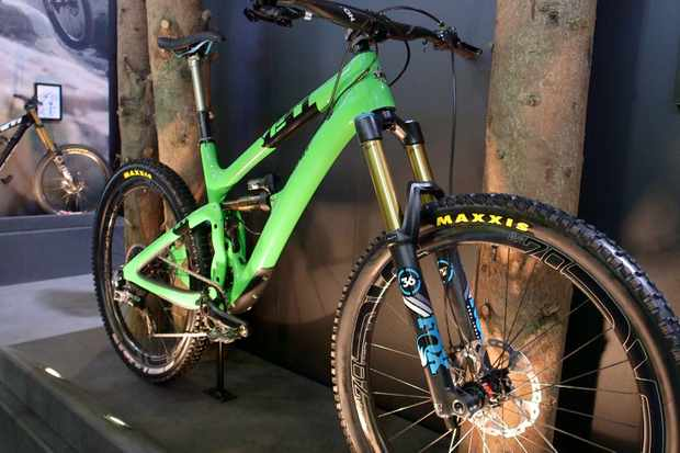 Here are our top five mountain bikes from this year's Eurobike - including 2015 the Yeti SB5c