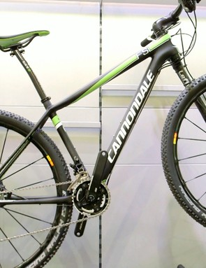 The Cannondale F29si caught our eye