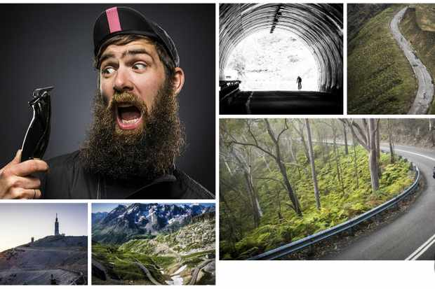 Sydney-based cycling photographer Marcus Enno (aka Beardy McBeard) is soon to lose his defining beard