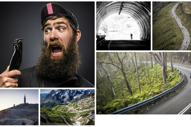 Sydney-based cycling photographer Marcus Enno (aka Beardy McBeard) is soon to lose his defining beard