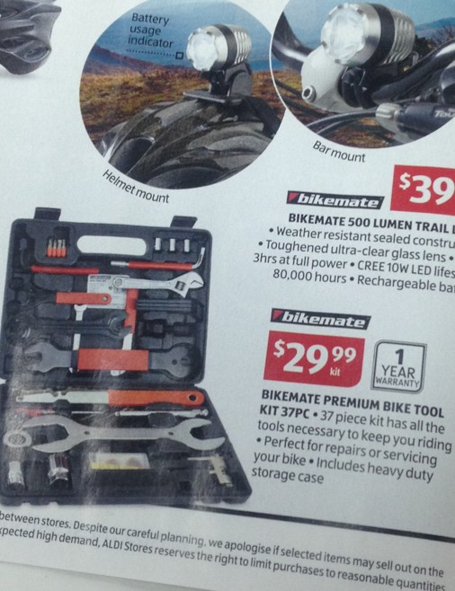 We have seen this same tool kit with other brand names plastered over it for three times the price