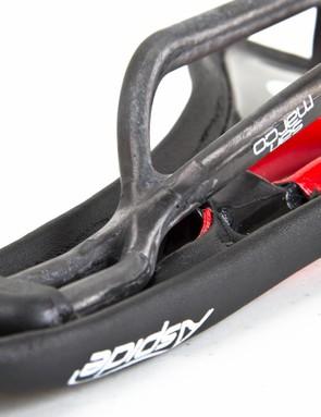 San Marco's DNA rails help to stop the saddle from rolling