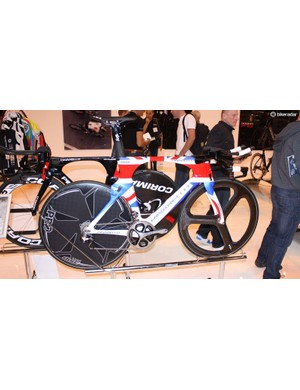 Now the time trial champion of the world, here's Sir Bradley Wiggins' Pinarello Bollide