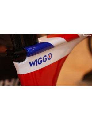 This model was custom painted for the Tour of Britain with customary nickname