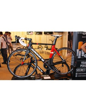 Another look at the Argon 18 Nitrogen aero road bike that was launched at Eurobike