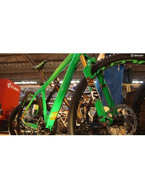 Cube deserves credit for the unusual colour co-ordination on its Reaction GTC hardtail