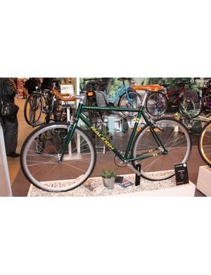 Raleigh's stand was full of interesting bikes like this £500 Propaganda urban bike