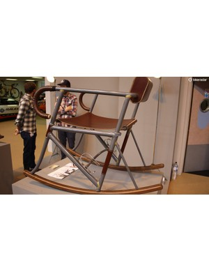 Bottle cages, seat clamps and all – the Radonneur chair is a celebration of cycling and bespoke British craftsmanship