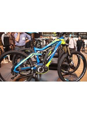 Haibike is big into motorised mountain bikes, here's the £3,700 Xduro Allmtn RC