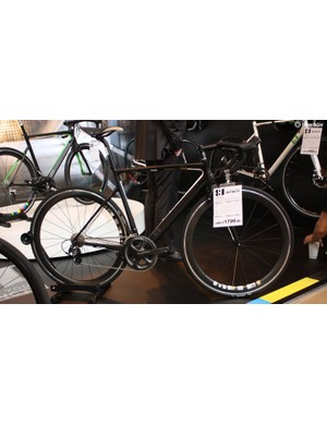 13 is Halfords' new bike brand representing great value and design touches usually only found on higher-end machines. This Intuition model comes with deep section wheels and Ultegra for £1,799
