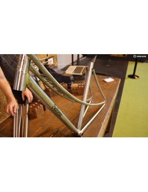 Cambridge-based Satoma Cycles is a one man show producing very special frames such as this beauty