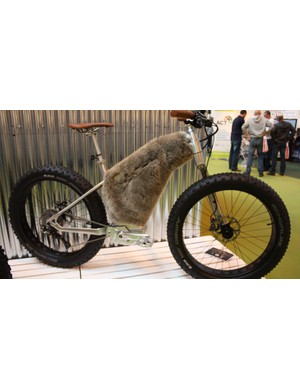 This e-fat bike from Moustache is part of a new range of bikes and accessories created in collaboration with designer Phillipe Starck