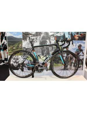 The Genesis Zero Team was the British bike-maker's first carbon design. This pro-spec Madison Genesis bike comes with Dura-Ace Di2, an SRM power meter and a cool little K-edge race number mount above the back brake