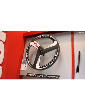 Three spokes are just cool – fact
