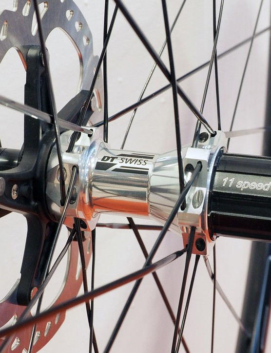 Road disc brake and thru-axle devotees will find plenty to like from DT Swiss in 2015