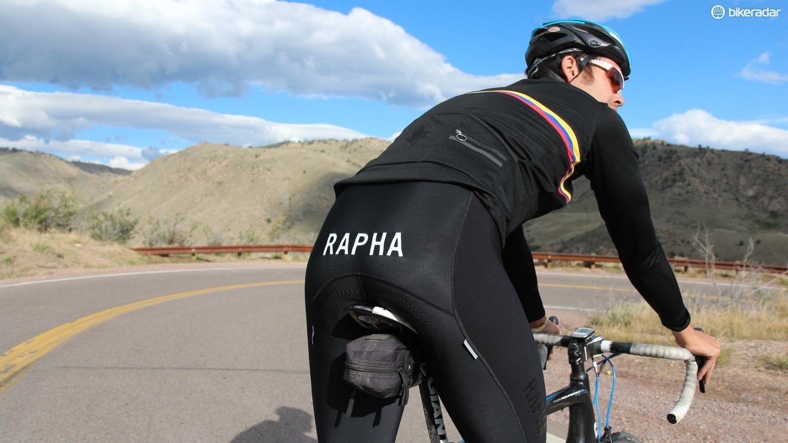The Pro Team Padded Winter Tights get the same CyTech chamois as the Pro Team shorts