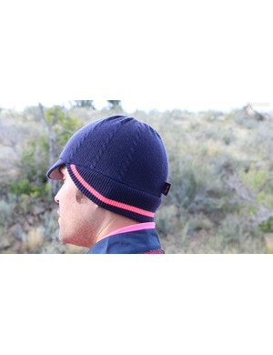 Rapha says the Knitted Winter Hat is a women's piece, but we don't care