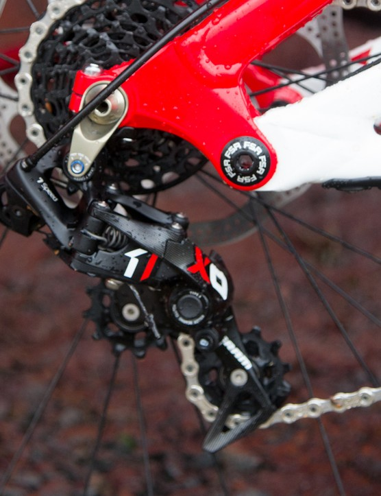SRAM X01 DH was introduced for 2014 and will continue for 2015