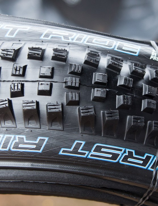 Schwalbe is able to give its riders lighter tires thanks to the ProCore system