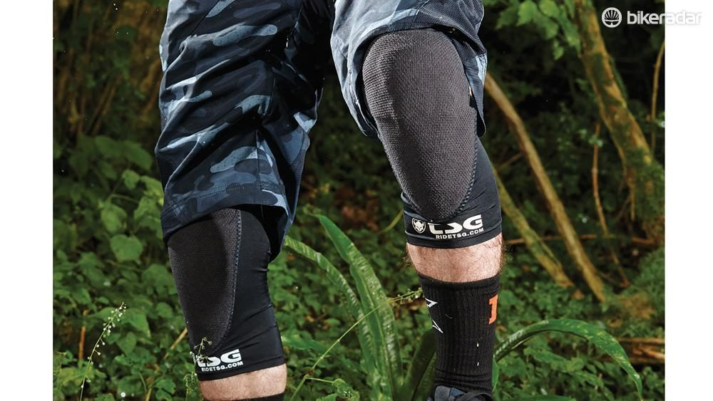 TSG Knee-Sleeve Joint Professional Mountain Bike Knee Pads for Bicycle