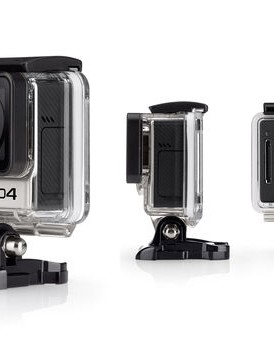 The GoPro HERO4 Black can record at a full 30 frames per second at a resolution of 4k