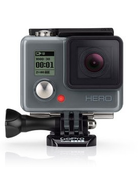 The HERO camera appears to be integrated into its housing, so you'll want to look after that lens