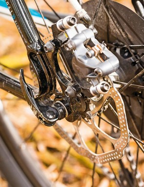 The Indian Fire Trail's seatstays are made of sterner stuff and guarantee a responsive if firm experience