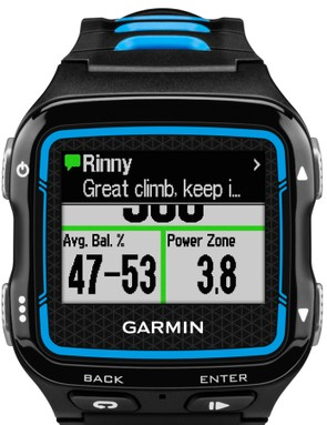 The new Garmin Forerunner 920XT adds smartphone notifications to the mix of sport-specific data