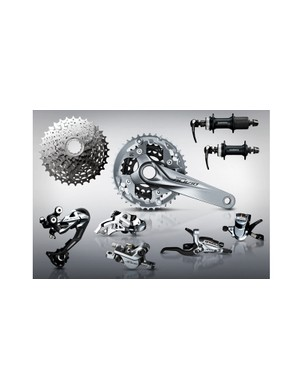 Shimano Alivio received a total revamp in 2015. The 9-speed groupset offers hydraulic disc brakes, multiple gearing options and a lighter and more durable crank design