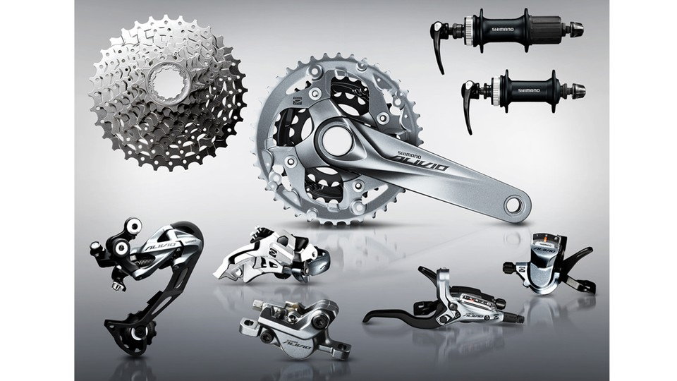 8bda9785fc7 Shimano Alivio received a total revamp in 2015. The 9-speed groupset offers  hydraulic