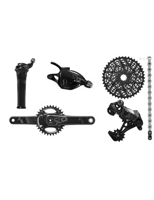 SRAM X01 was perhaps the most sought-after groupset of 2014. X01, along with X1 and XX1, offers a unique 11-speed setup where the cassette and rear derailleur are greatly different to offer a huge 10-42t range, without the option of a front derailleur