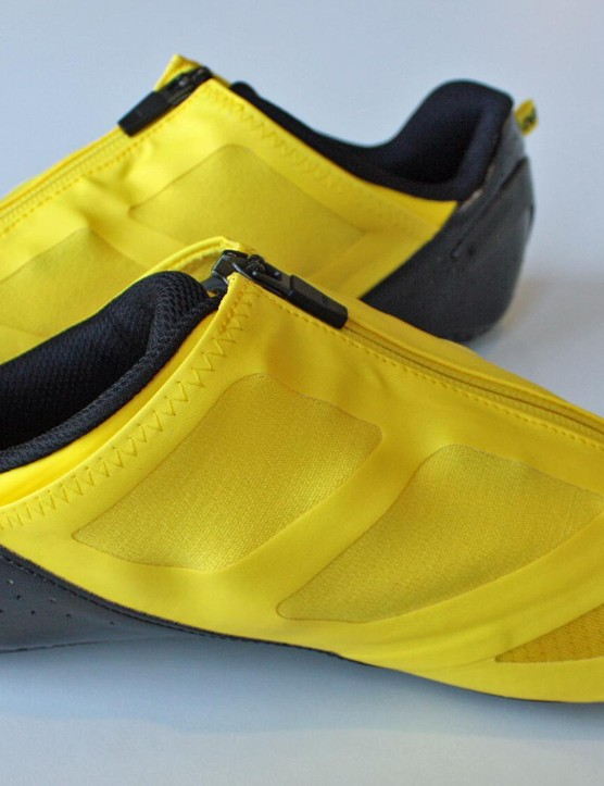 The new Mavic CXR Ultimate shoes give an aero benefit in everyday use