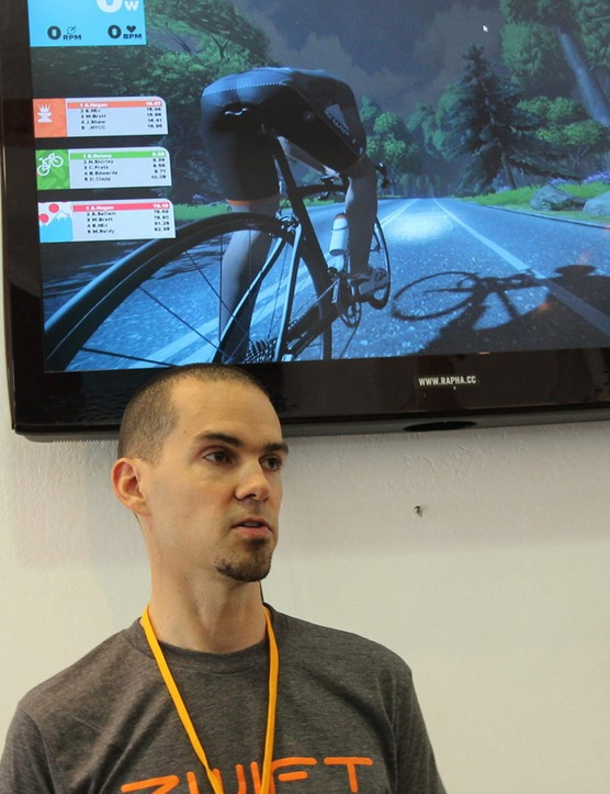 Zwift co-founder and vice president of game development Jon Mayfield spent 16 years as a videogame developer