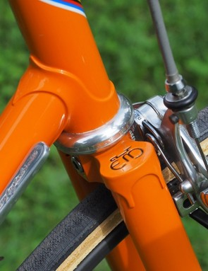 Eddy Merckx aficionados will often use the shape of the fork crown to help determine a frame's production year but in reality, there were no hard and fast rules inside the factory
