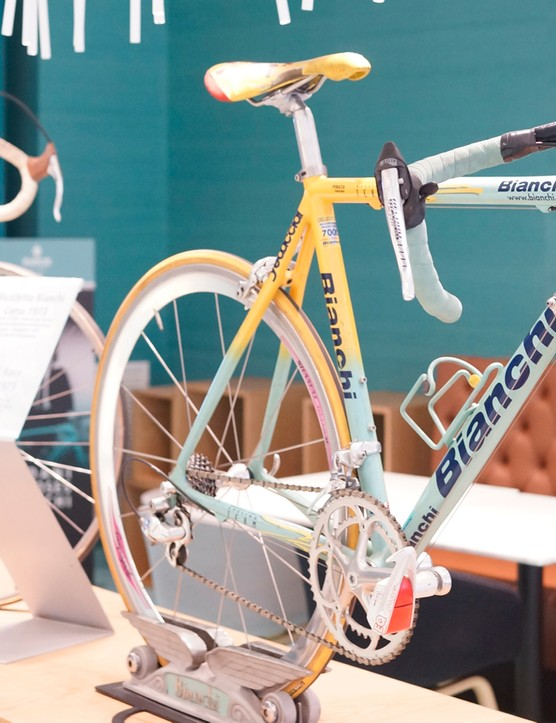 With almost 130 years of history behind the brand, Bianchi has plenty of models to choose for display