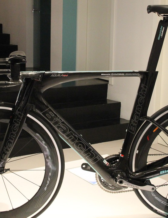 The new Aquila TT takes pride of place