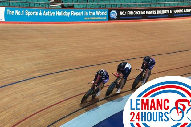 Le Manc 24 Hours is a new team-based endurance event held at the National Cycling Centre in Manchester