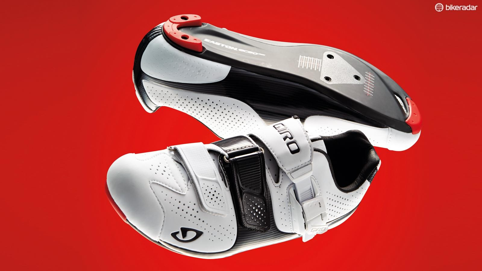 Giro's SuperNatural Fit footbed has three interchangeable arch supports, helping you to fine tune your fit