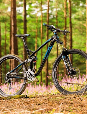 With deep paint and coordinated highlights, Trek's Remedy 8 looks good and should stay that way