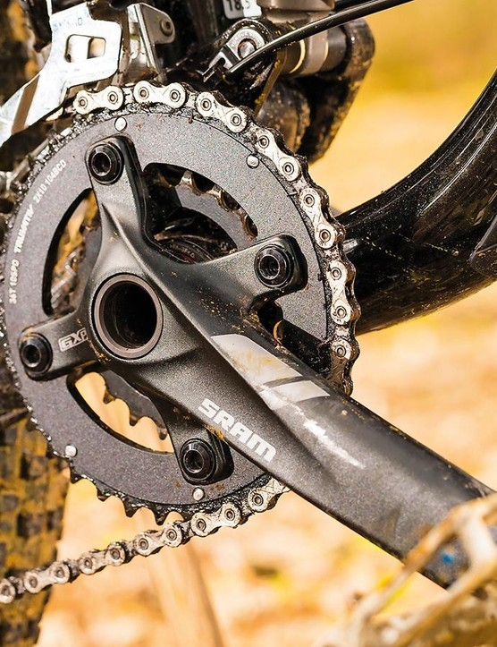 The spec elsewhere – SLX drive, Bontrager finishing kit – is solid, if unspectacular against direct-sale bikes
