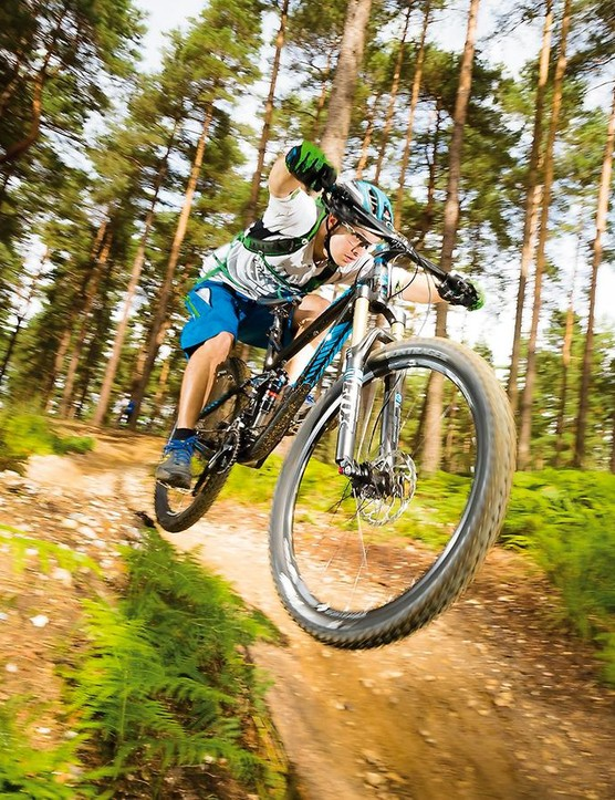 The Remedy hammers competently through rough stuff, though damping is a little unsophisticated