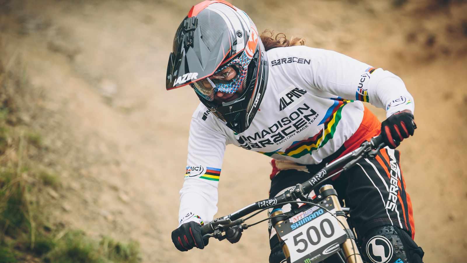 Downhill World Champion Manon Carpenter will take on a more urban challenge this Saturday