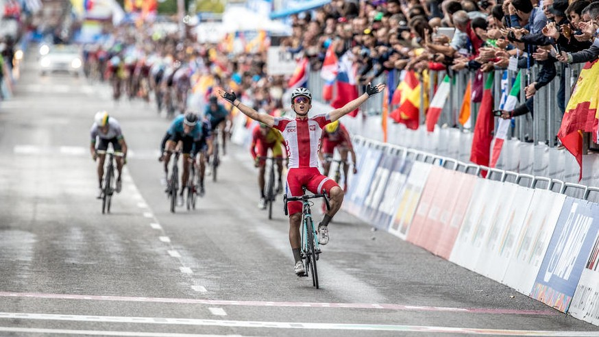 Kwiatkowski's audacious attack secured him victory