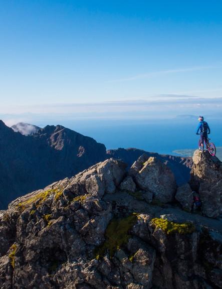 Danny MacAskill takes on the Cuillin Ridgeline on the Isle of Skye