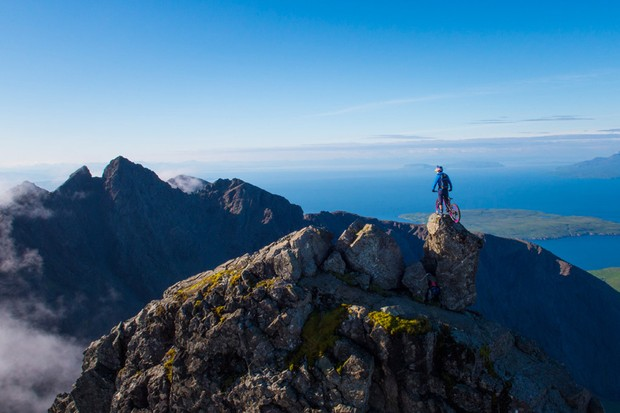Danny MacAskill takes on the Cuillin Ridgeline on the Isle of Skye
