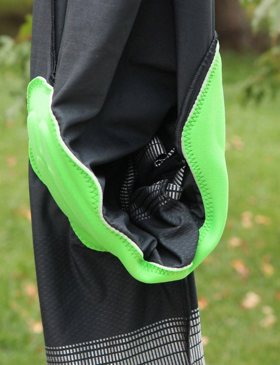 Chamois placement is good on the Aerofoil BiB Shorts, with the silicone pad falling under the sit bones